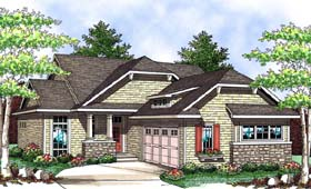 Craftsman House Plan 73415 Elevation