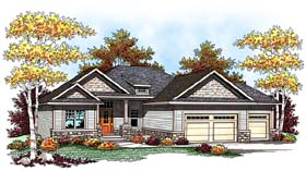 Traditional House Plan 73425 Elevation