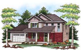 House Plan 73428 Elevation