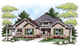 Craftsman Traditional House Plan 73430 Elevation