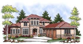 Mediterranean House Plan 73436 Elevation