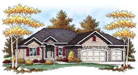 European Traditional House Plan 73441 Elevation