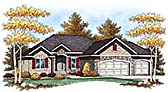Plan Number 73441 - 1734 Square Feet