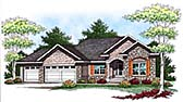 Plan Number 73442 - 1640 Square Feet