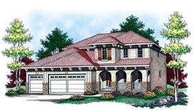 Mediterranean House Plan 73447 Elevation