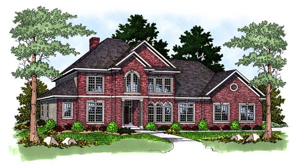 Traditional House Plan 73459 Elevation
