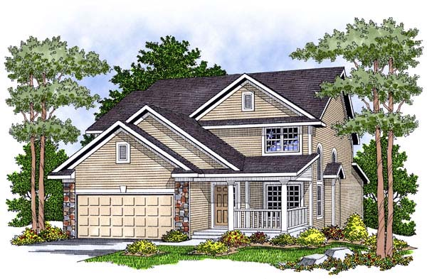 Country House Plan 73460 Elevation