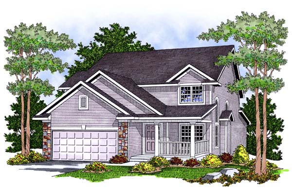 Country House Plan 73461 Elevation
