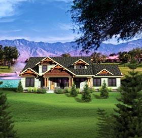 Craftsman House Plan 73496 Elevation