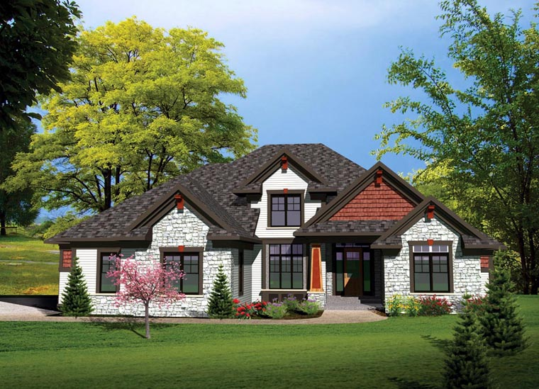 Traditional House Plan 73497 Elevation