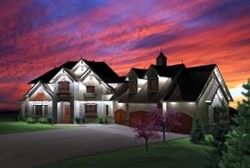 Craftsman House Plan 73499 Elevation