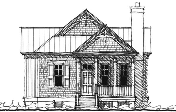 Historic Southern House Plan 73710