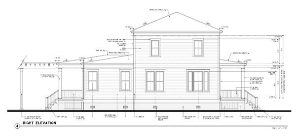 Historic, Southern House Plan 73717 with 4 Beds, 4 Baths, 1 Car Garage Picture 2