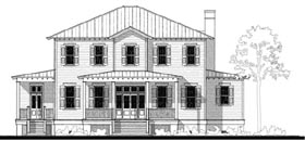 House Plan 73727 | Historic, Southern Style House Plan with 3447 Sq Ft, 4 Bed, 3 Bath Elevation