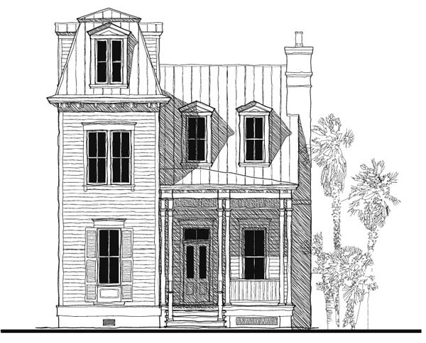 Historic , Italian , Victorian House Plan 73730 with 3 Beds, 3 Baths Elevation