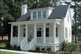 Historic , Southern House Plan 73733 with 4 Beds, 4 Baths Elevation