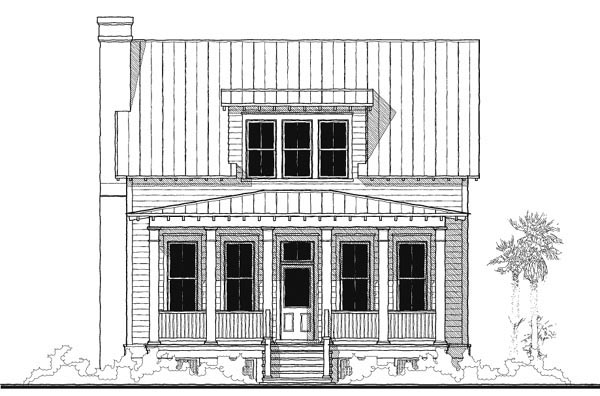 Historic, Southern House Plan 73733 with 4 Beds, 4 Baths Picture 2