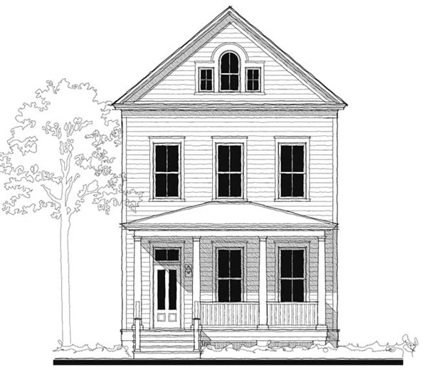 Southern , Historic House Plan 73737 with 3 Beds, 3 Baths Elevation