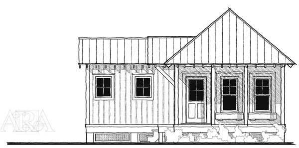 Historic , Southern , Elevation of Plan 73739