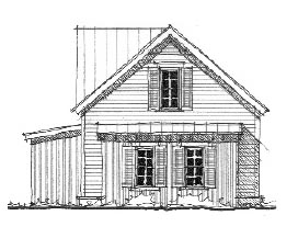 Historic 2 Car Garage Plan 73758 Picture 1