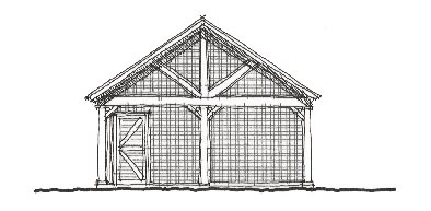 Historic Garage Plan 73771 Elevation