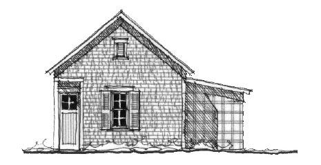 Historic Garage Plan 73777 Elevation