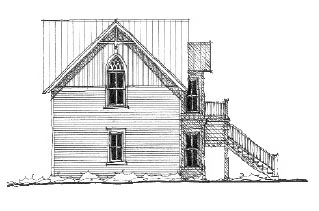 Historic House Plan 73793 with 1 Beds, 2 Baths Picture 1