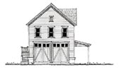 Plan Number 73814 - 750 Square Feet