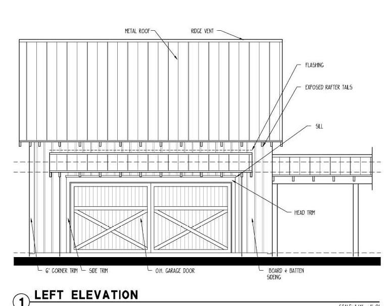 Historic 2 Car Garage Plan 73822 Picture 1