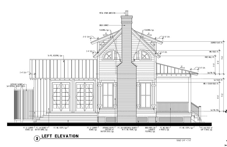 Country, Historic House Plan 73834 with 1 Beds, 2 Baths Picture 1
