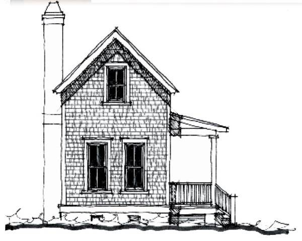 Country Historic House Plan 73846 Elevation