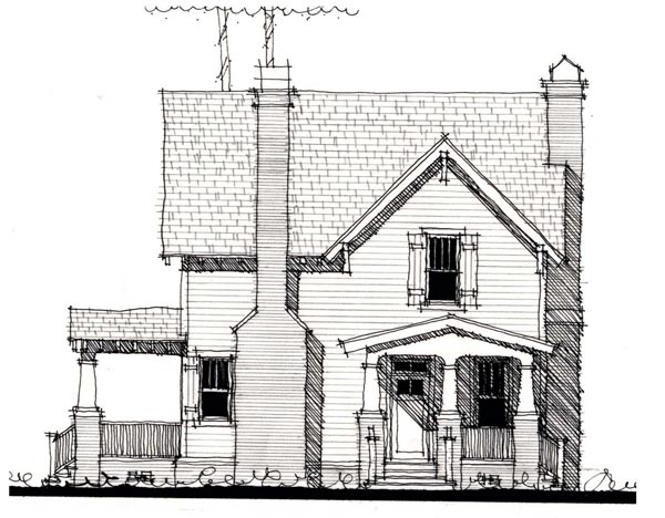 Country, Historic Multi-Family Plan 73866 with 4 Beds, 4 Baths