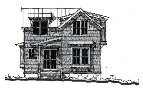 Country Historic House Plan 73872 Elevation