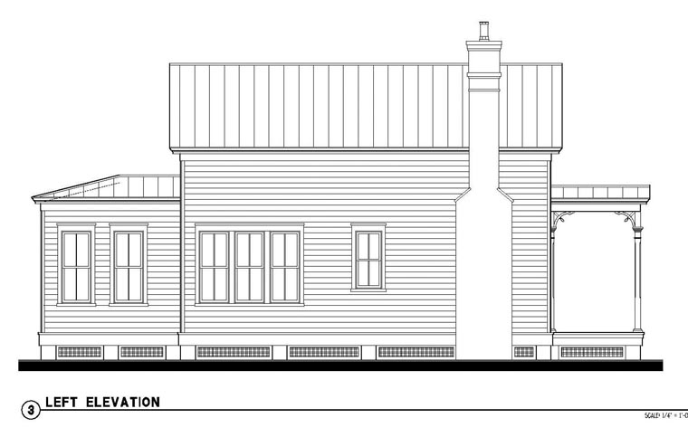 Country, Historic House Plan 73875 with 2 Beds, 2 Baths Picture 1