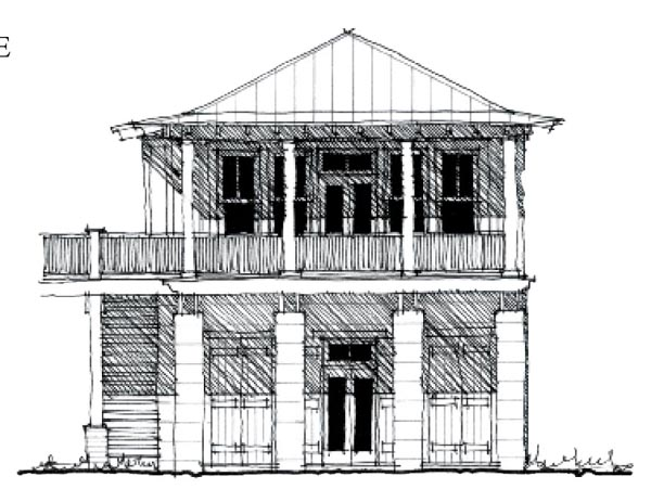 Country Historic House Plan 73881 Elevation