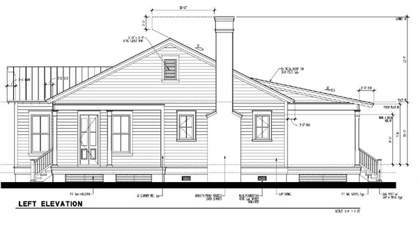 Country, Historic House Plan 73888 with 3 Beds, 2 Baths Picture 1