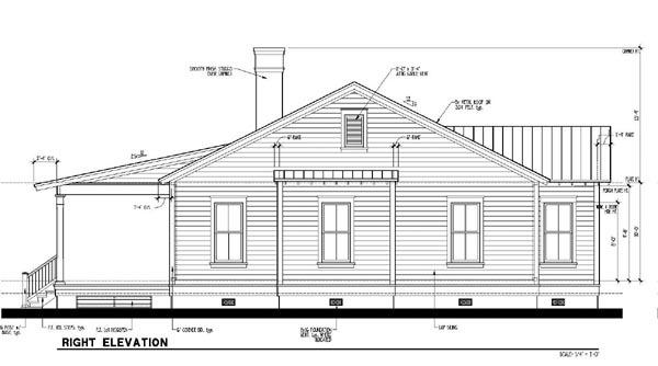 Country, Historic House Plan 73888 with 3 Beds, 2 Baths Picture 2
