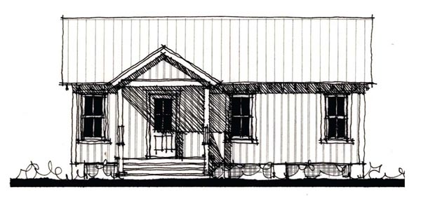 Country Historic House Plan 73894 Elevation