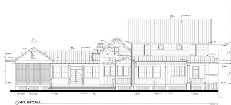 Country, Historic House Plan 73901 with 3 Beds, 3 Baths Picture 2