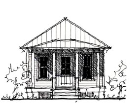 Country Historic House Plan 73903 Elevation