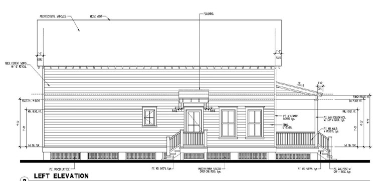 Country, Historic House Plan 73917 with 3 Beds, 2 Baths Picture 1