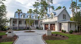 House Plan 73927 | Country Southern Style Plan with 3100 Sq Ft, 3 Bedrooms, 4 Bathrooms, 2 Car Garage Elevation