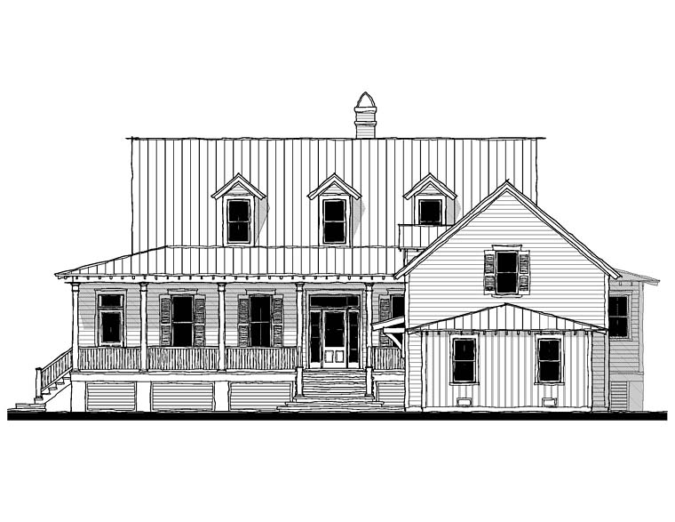 Country Southern House Plan 73927