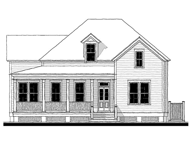 House Plan 73934 | Country Southern Traditional Style Plan with 2314 Sq Ft, 4 Bedrooms, 3 Bathrooms