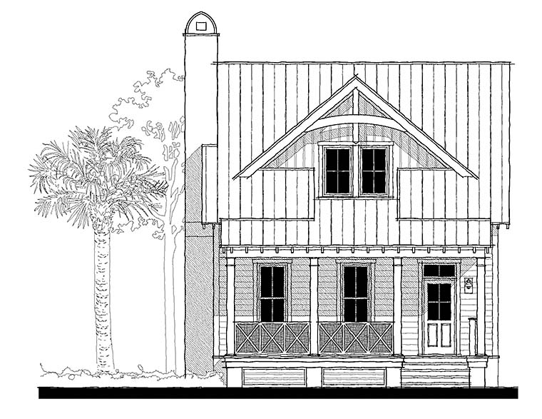 Cottage, Country, Southern House Plan 73938 with 3 Beds, 4 Baths Picture 1