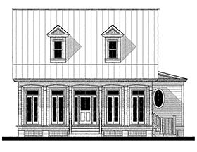 Country , Southern House Plan 73941 with 4 Beds, 3 Baths Elevation