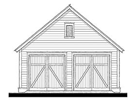 Cottage Traditional Garage Plan 73951 Elevation