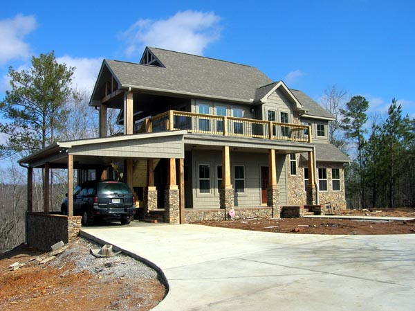 Contemporary, Craftsman, Traditional House Plan 74016 with 2 Beds, 2 Baths Picture 4