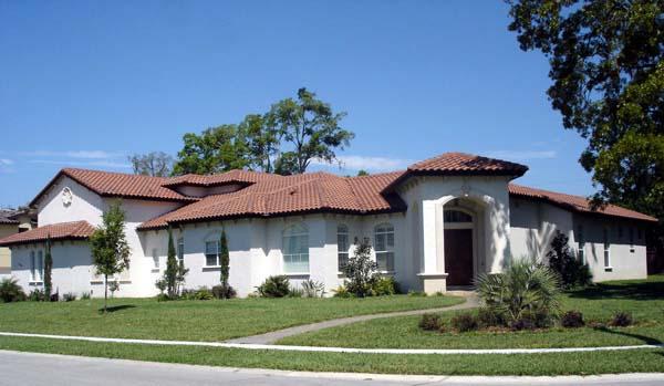 Mediterranean Southwest House Plan 74204 Elevation