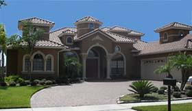 Mediterranean Southwest House Plan 74206 Elevation
